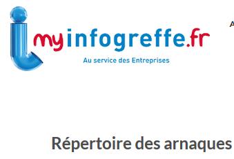 Conseil TPE PME commerce - Répertoire arnaque